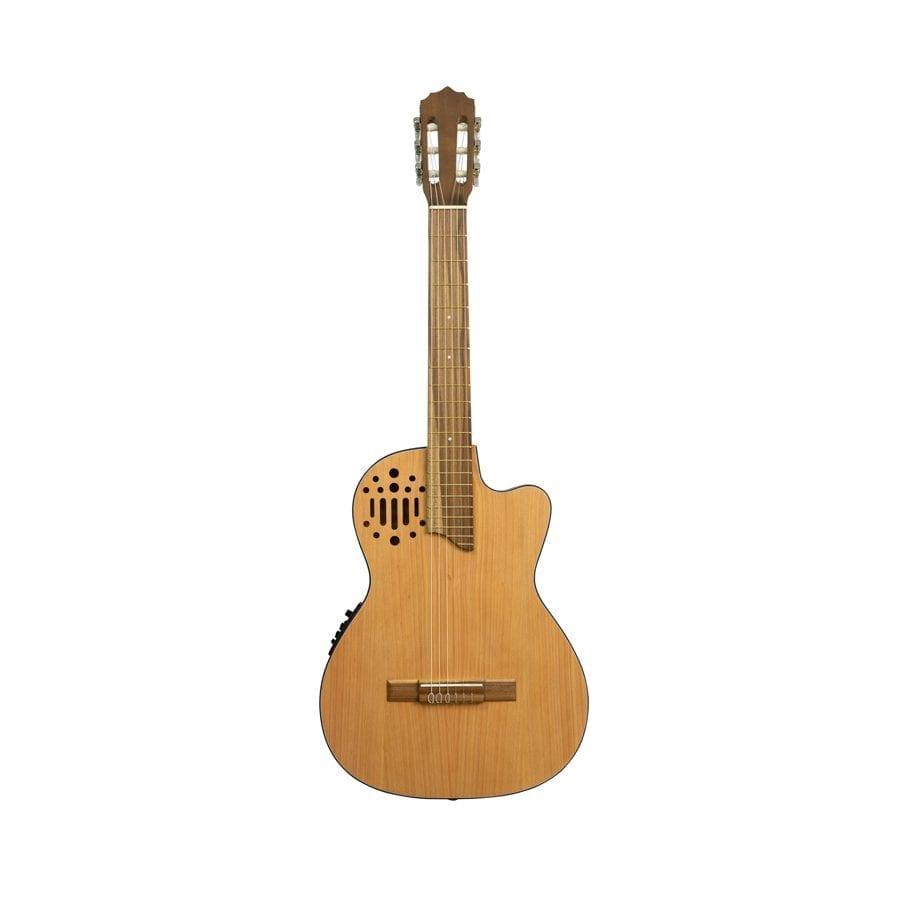 guitarra electro acustica cuerdas de nylon
