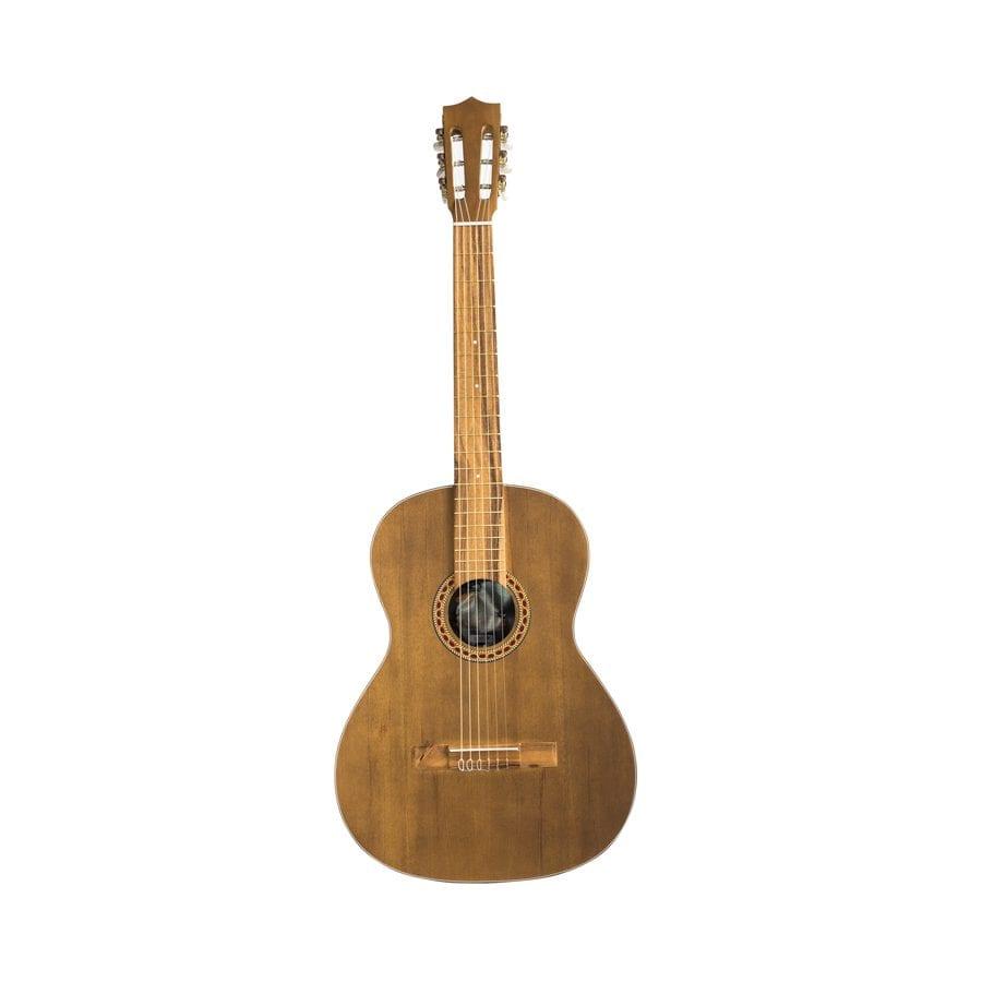 guitarra marron