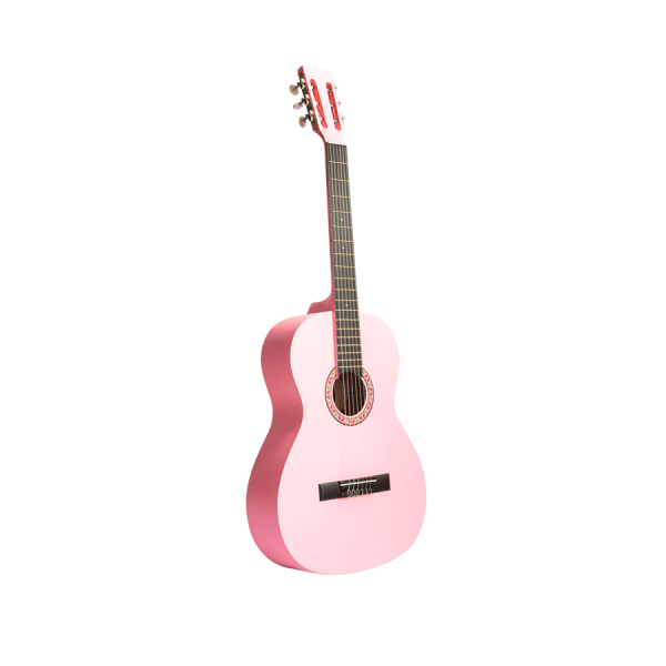 guitarra rosada