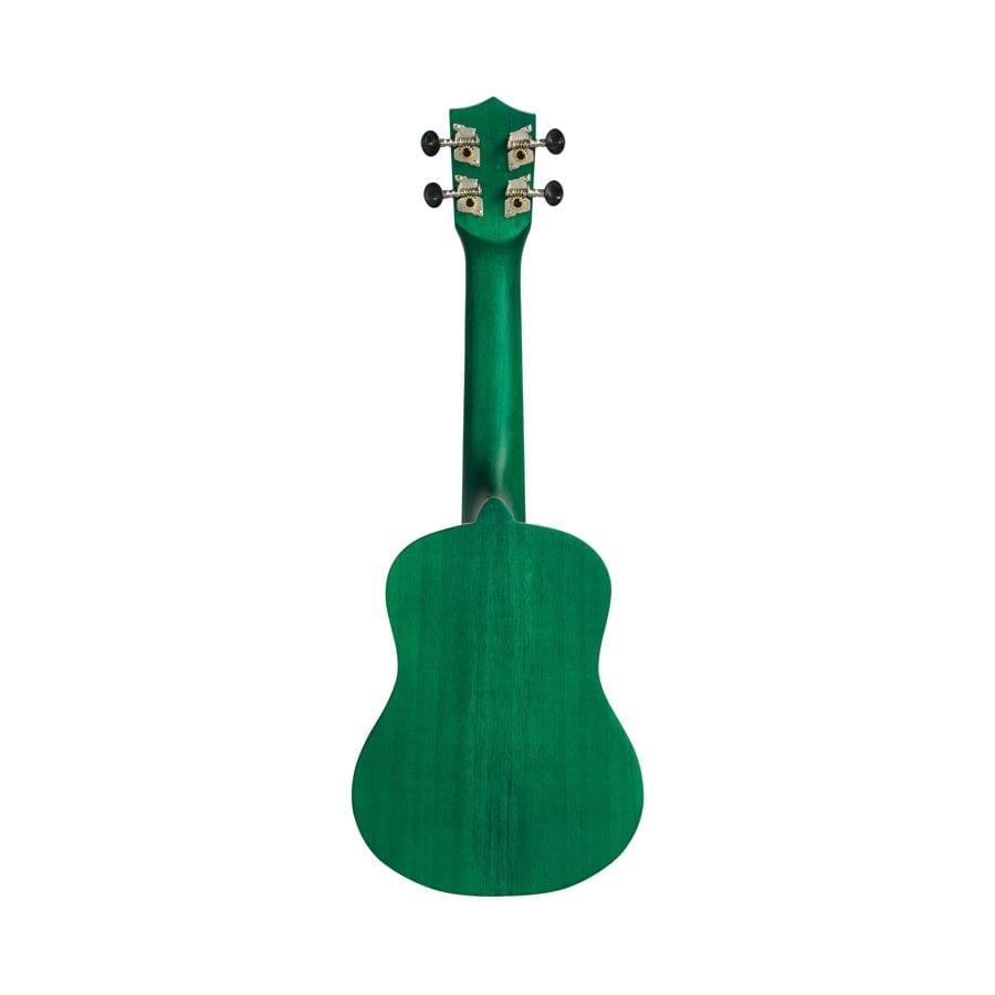 ukulele soprano verde