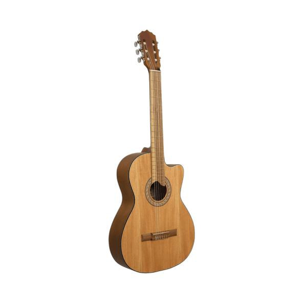 GUITARRA clásica CON CUTAWAY – DE LA CASA