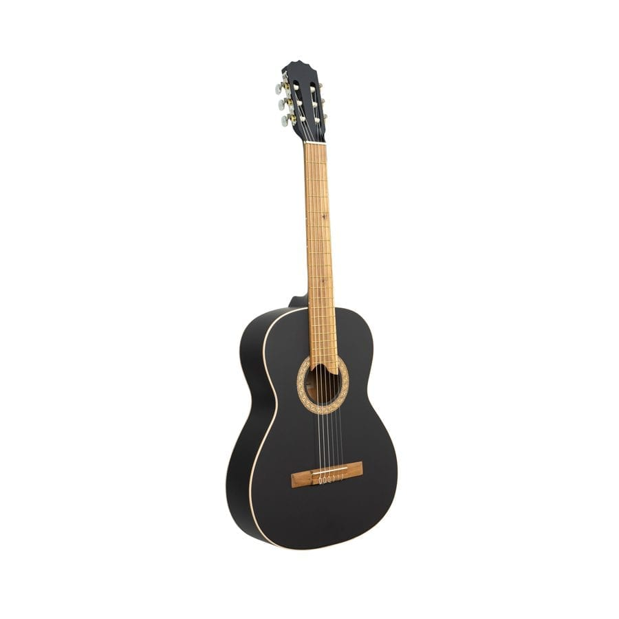 guitarra negro mate